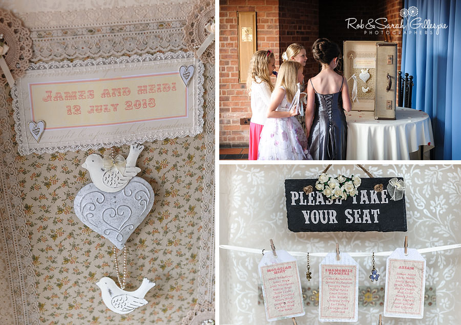 wedding details at avoncroft museum