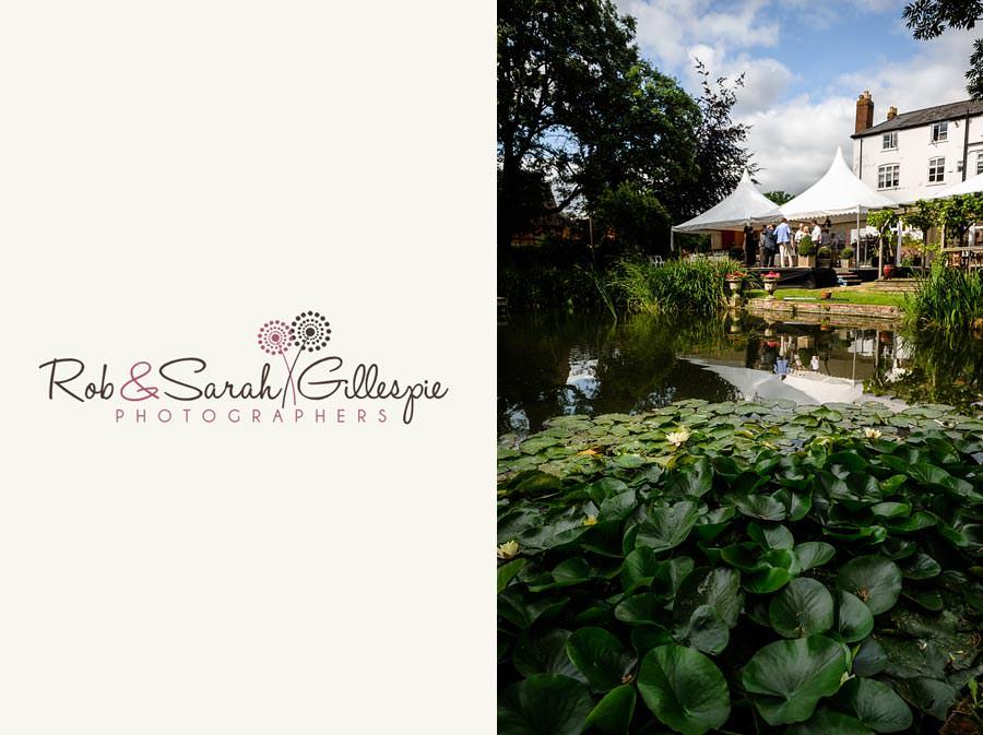 garden wedding reception with marquee