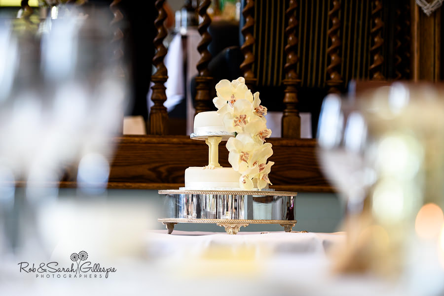 Wedding cake at Pendrell Hall