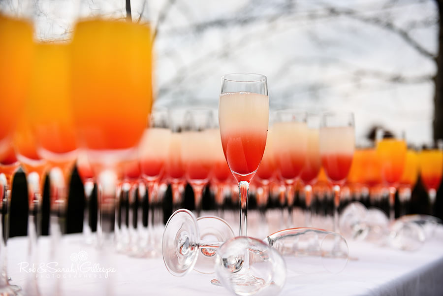 Wedding drinks at Warwick House