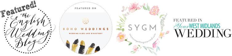 Midlands Wedding Photography Website Badges