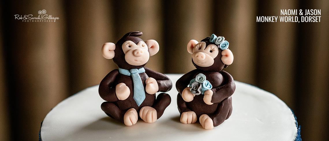 Wedding photography at Monkey World in Dorset