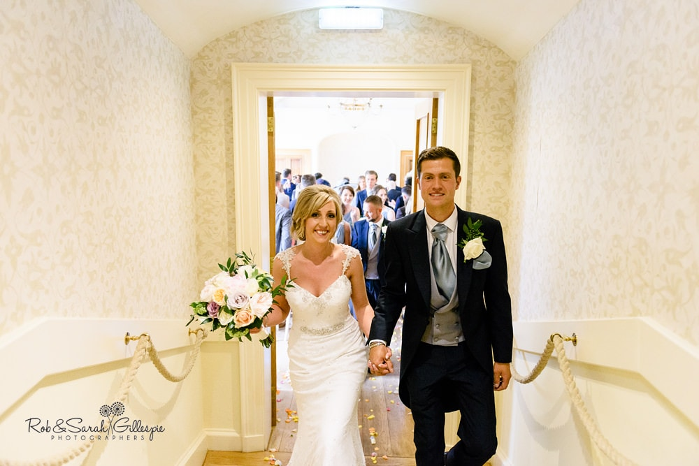 Alrewas Hayes wedding - drinks reception