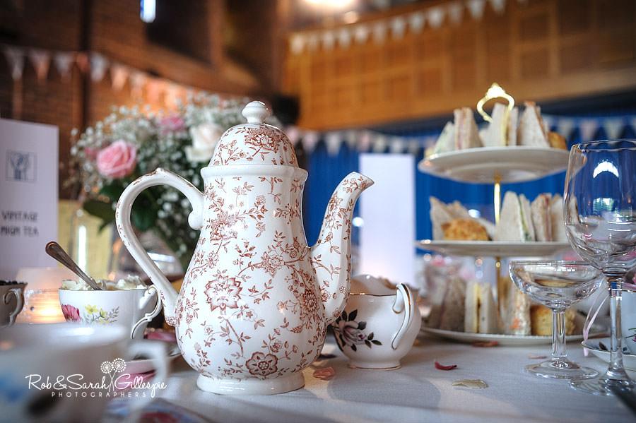 vintage teapot at avoncroft museum