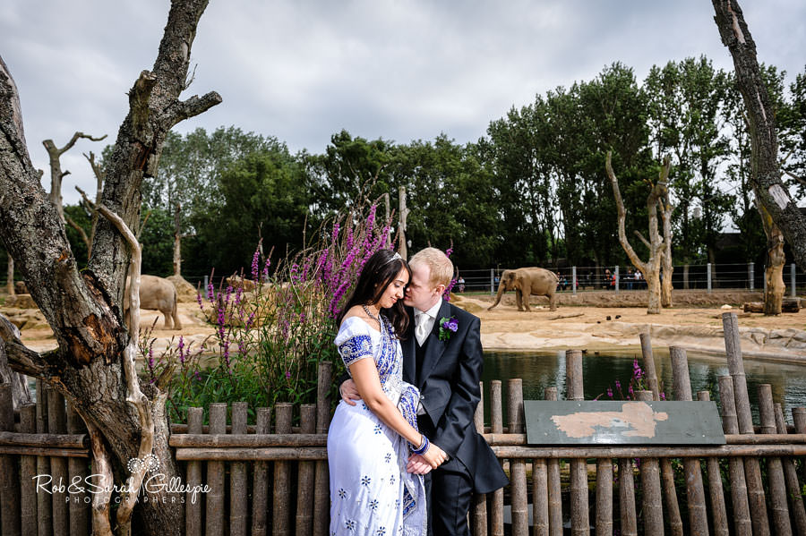 Twycross zoo wedding