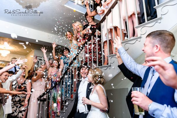 Confetti at Warwick House