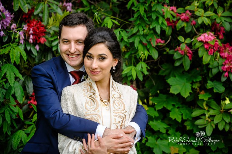 Small and imtimate wedding photography in the Midlands