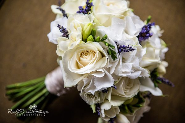 Wedding flowers at Welcombe Hotel