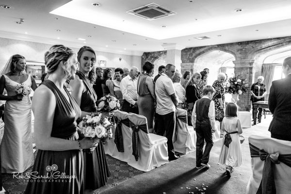 Welcombe Hotel wedding ceremony