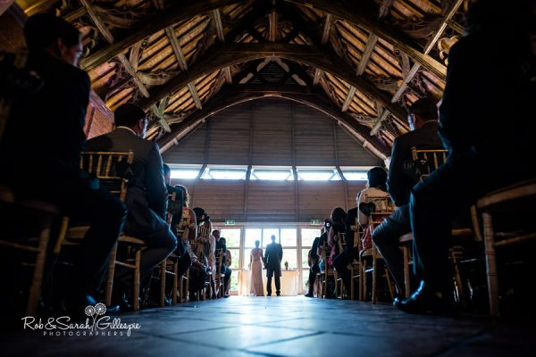 Wedding ceremony at Avoncroft Museum