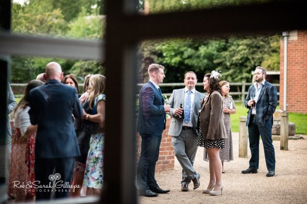 Wedding guests at Avoncroft Museum