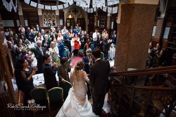 Highbury Hall wedding reception