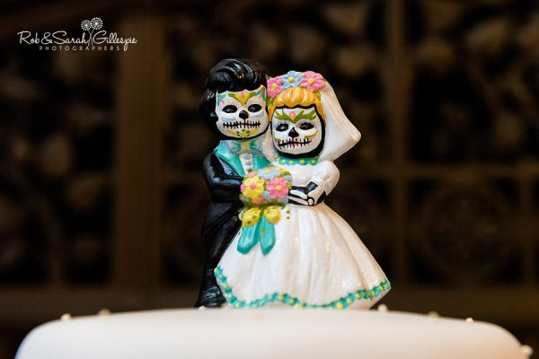 Cake topper at Highbury Hall