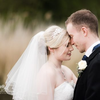 Bride and groom at Coombe Abbey