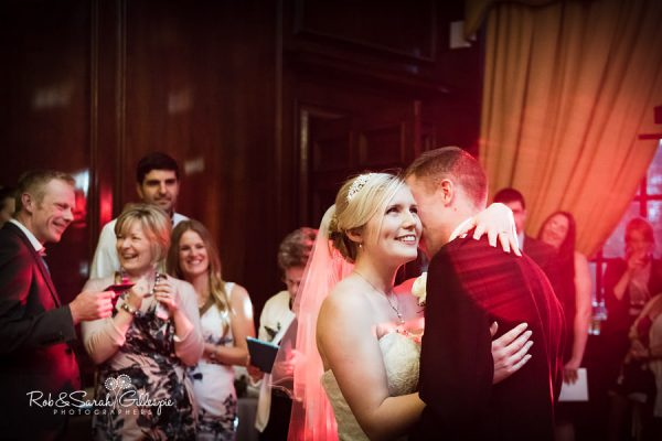 First dance at Coombe Abbey wedding