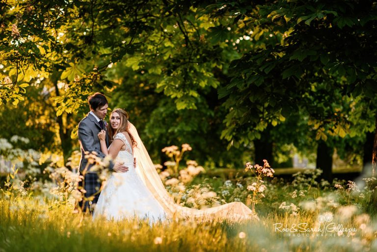 Beautiful couple photos at Coombe Abbey wedding