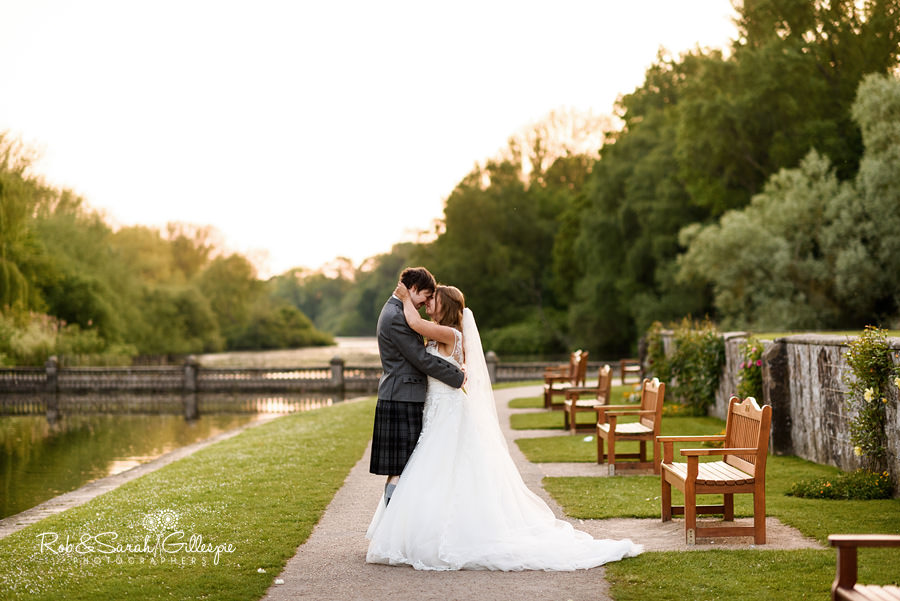 Wedding photography at Coombe Abbey