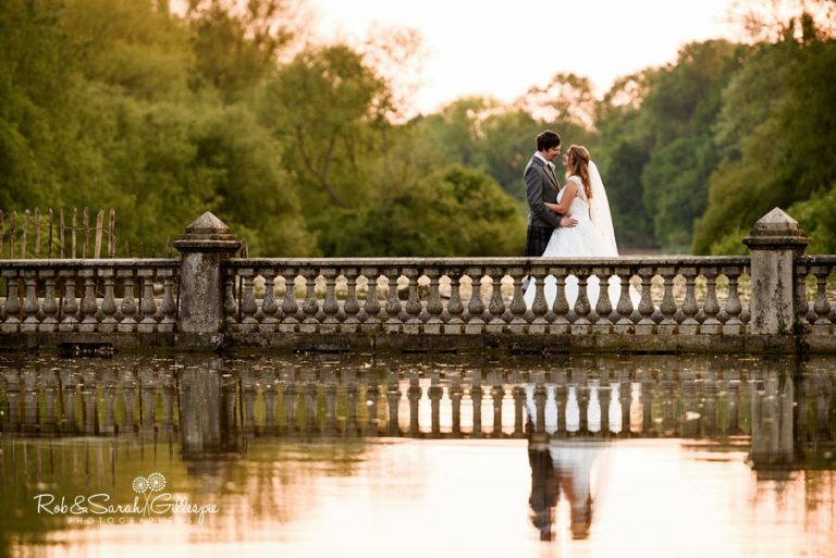 Coombe Abbey provides beautiful settings for wedding photos