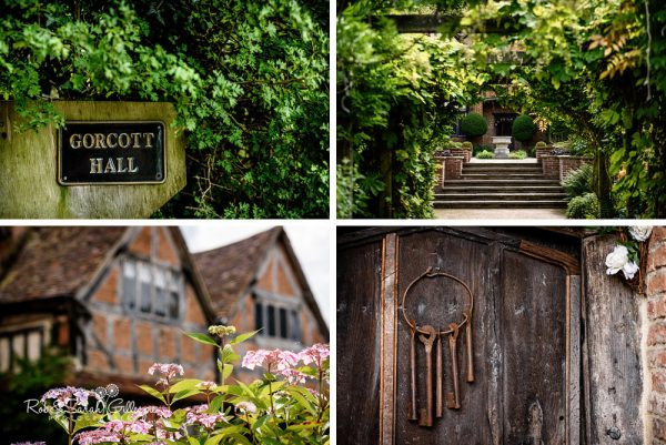 Gorcott Hall Wedding Venue details