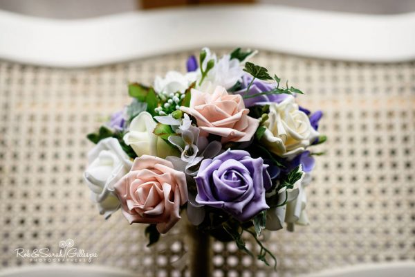 Bridal bouquet at Gorcott Hall
