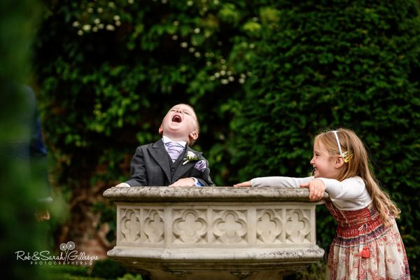Children at Gorcott Hall Wedding