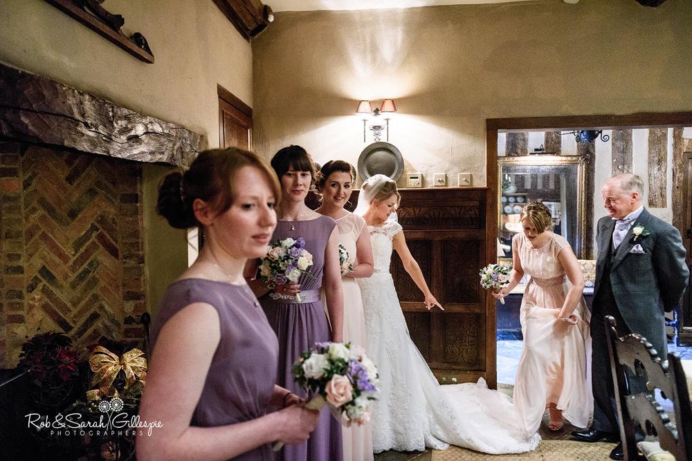 Gorcott Hall civil wedding ceremony