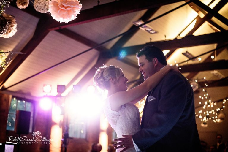 Wedding photography at Gorcott Hall