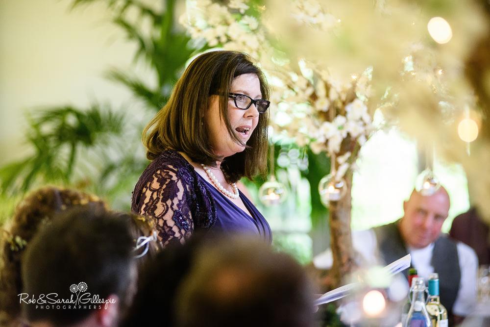 Speeches at same-sex wedding at the Matara Centre