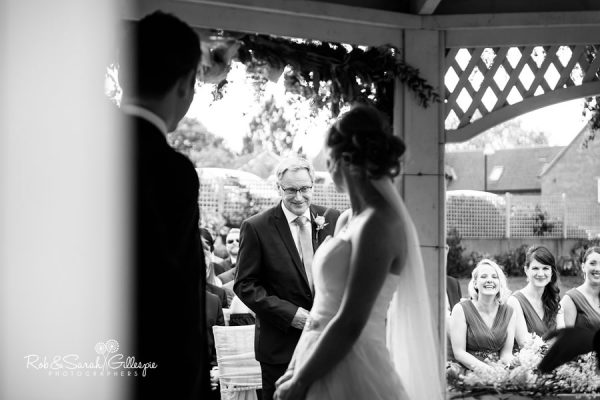Wedding ceremony photograpy at Warwick House