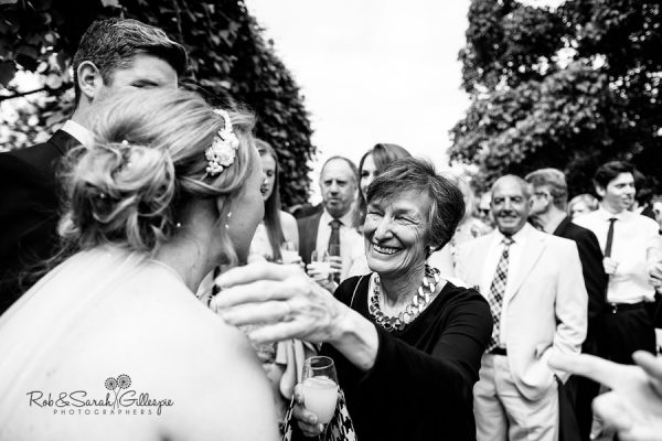 Natural wedding photography at Warwick House