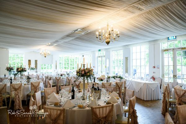 Warwick House wedding breakfast