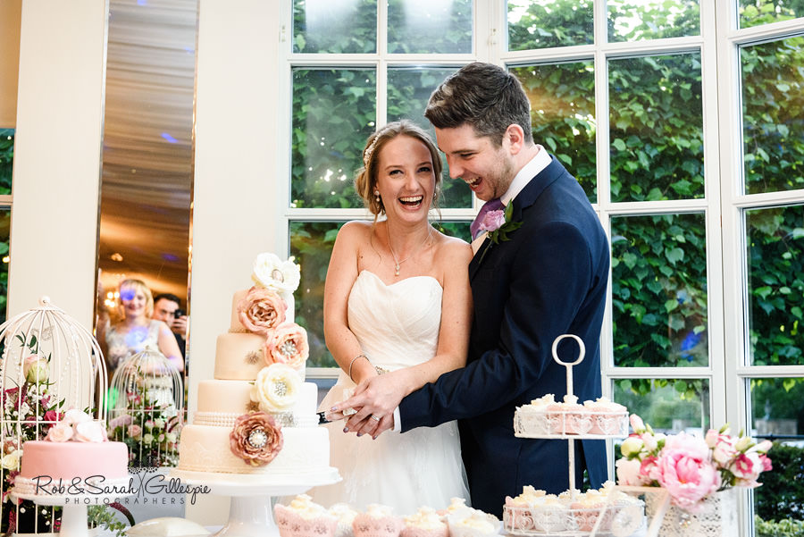 Wedding photography at Warwick House by Rob & Sarah Gillespie