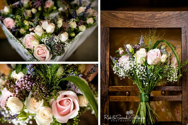 Wedding flowers at Wethele Manor