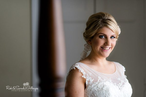 Bride portrait at Wethele Manor