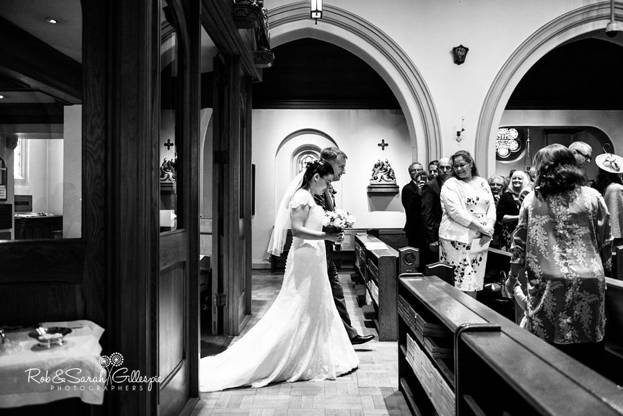 All Saints RC church and Alrewas Hayes wedding photography by Rob & Sarah Gillespie