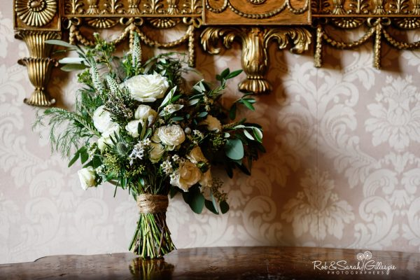Bridal flowers at Coombe Abbey