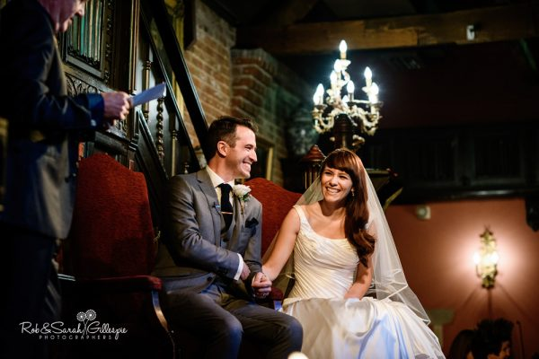 Abbeygate wedding ceremony at Coombe Abbey