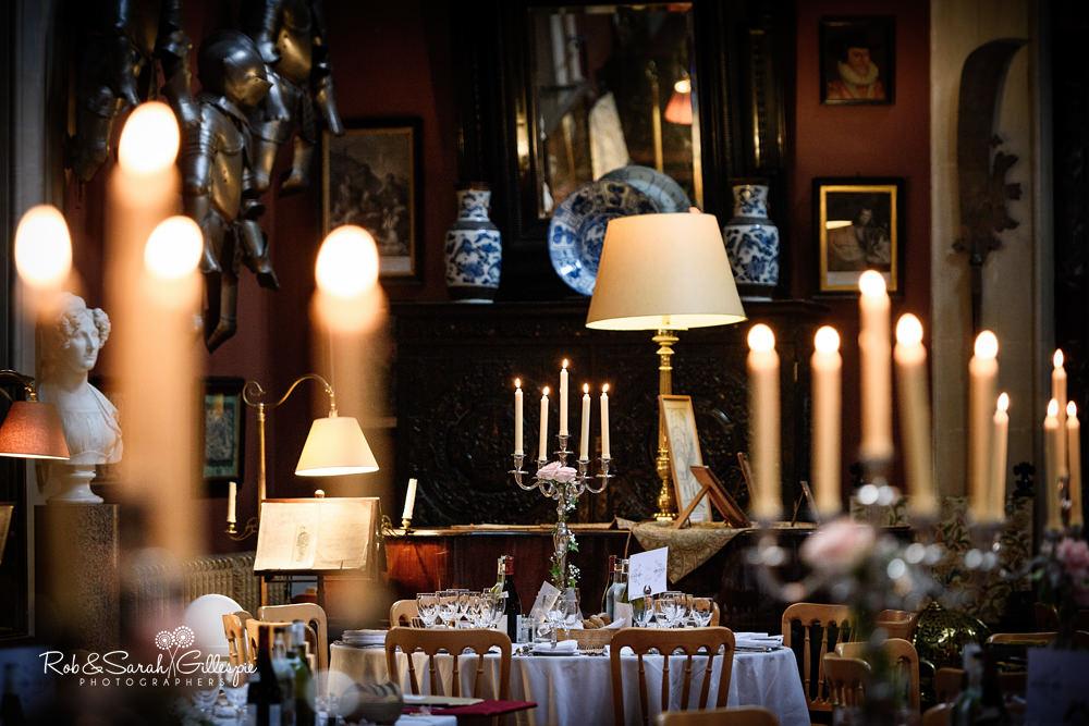Eastnor Castle wedding reception