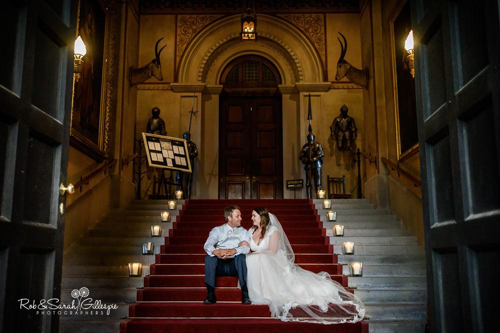 Malvern College & Eastnor Castle Wedding - Louisa & Ben