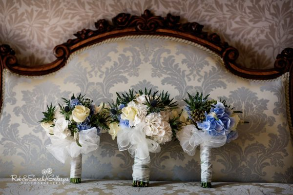 Wedding flowers at Highbury Hall in Birmingham
