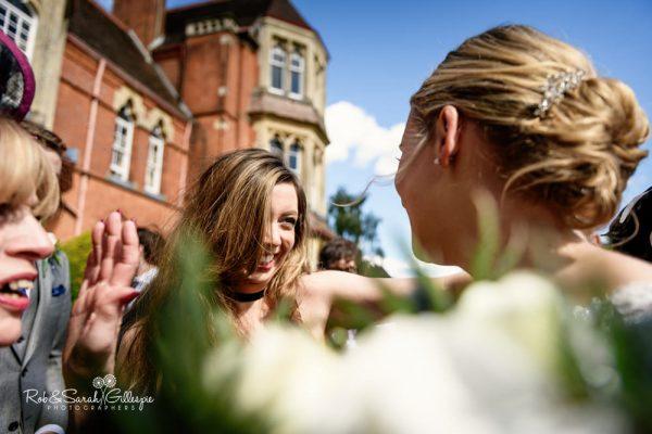 Wedding reception at Highbury Hall in Birmingham