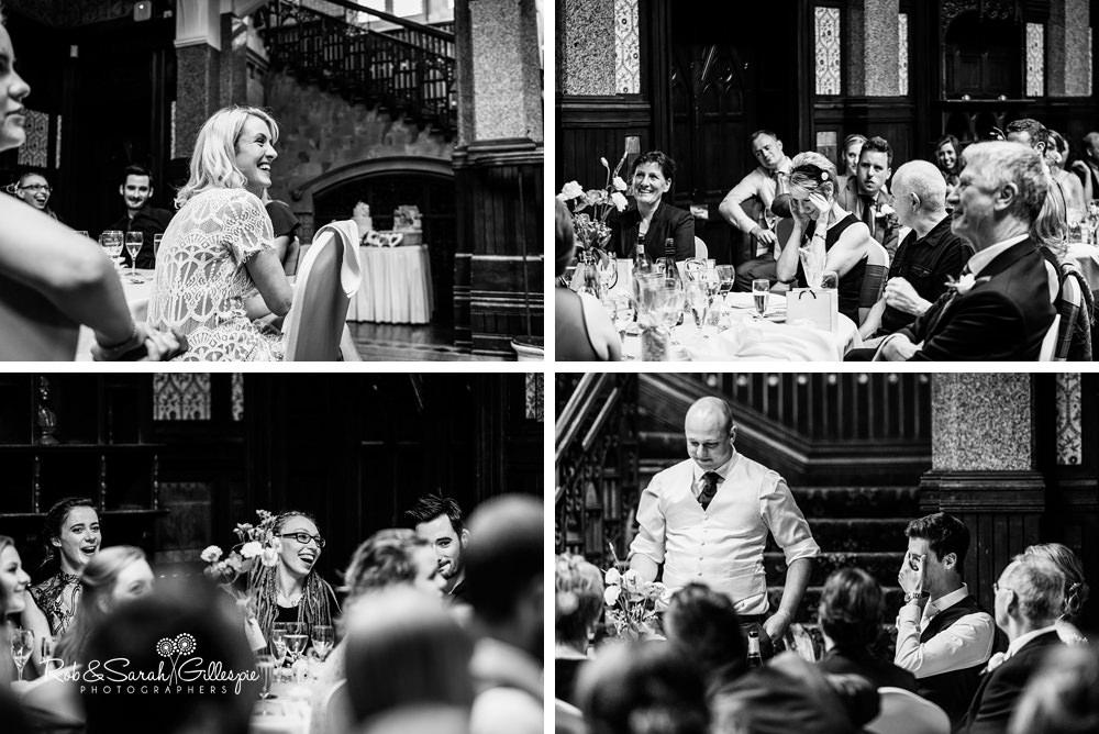 Wedding at Highbury Hall by husband and wife photographers Rob & Sarah Gillespie