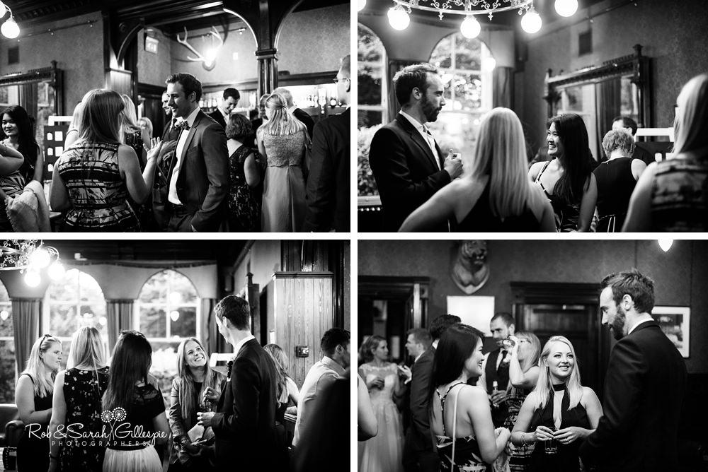 Wedding at Highbury Hall by husband and wife photographers Rob & Sarah Gillespie
