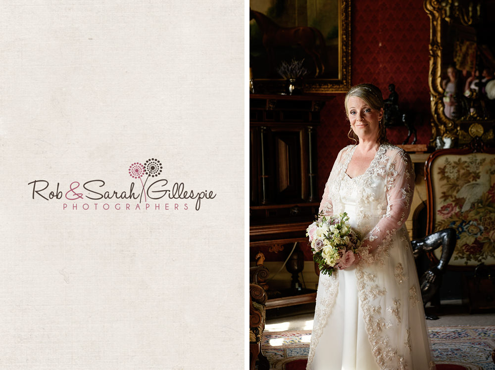 Portrait of bride at Maunsel House