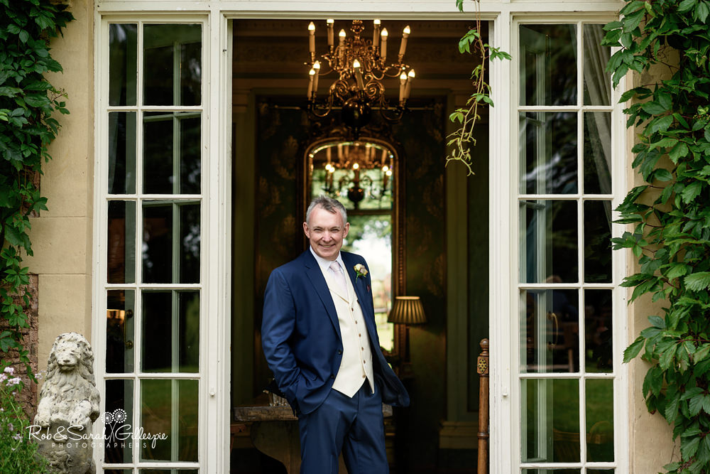 Groom portrait at Maunsel House