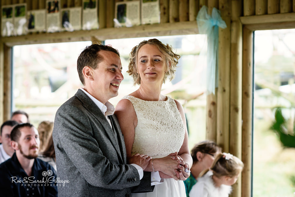 Dorset Monkey World Wedding Photography by Rob & Sarah Gillespie