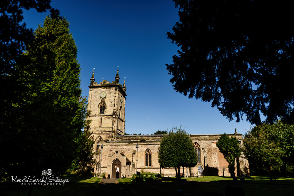 All Saints church Grendon, Warwickshire