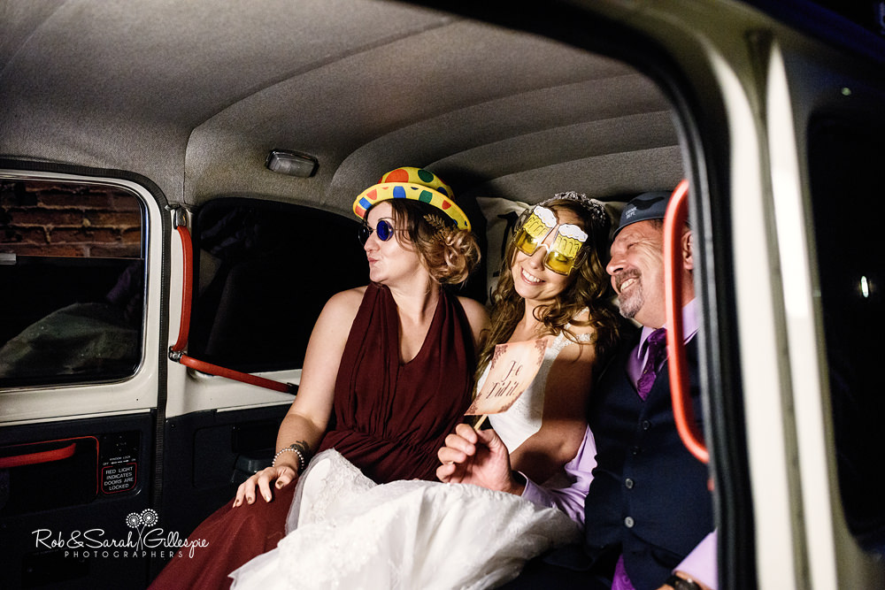 Mythe Barn wedding reception
