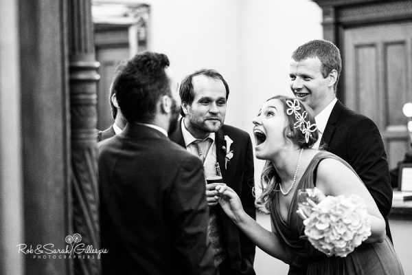 Candid wedding photography at Pendrell Hall