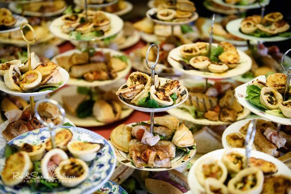 Wedding food at Avoncroft Museum